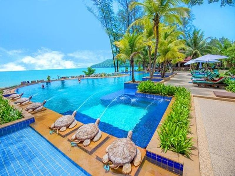 Resorts on Khao Lak Beach