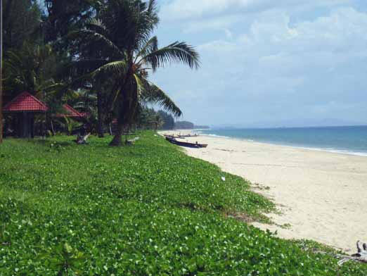 Beaches South of Khao Lak