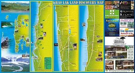 Khao Lak Map Big and Downloadable Khao Lak Lovers